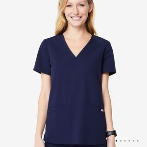 Figs Casma Scrub Top